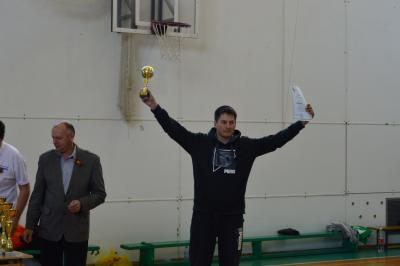 награждение 1-е мето по волейболу
